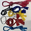 Thumbnail: Bracciali e collane bandane multicolor