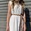 Thumbnail: Maxi camicia riga bianca - Kikisix
