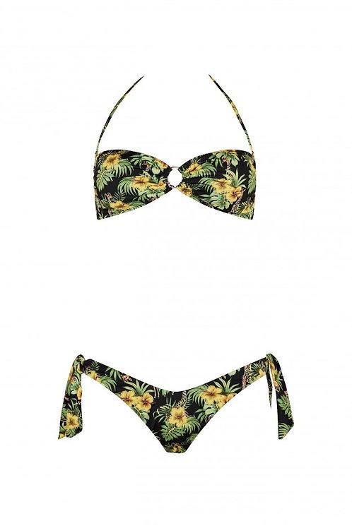 Bikini Nadine giraffe nero - Matinée