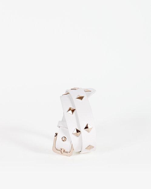Cintura Gold bianca - Gio Cellini