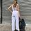 Thumbnail: Tuta con cintura bianca - Kikisix
