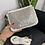Thumbnail: Pochette borchie piatte bianco- Gio Cellini
