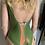 Thumbnail: Costume Gisele laminato verde - Matinée