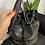 Thumbnail: Secchiello borchie piatte nero - Gio Cellini