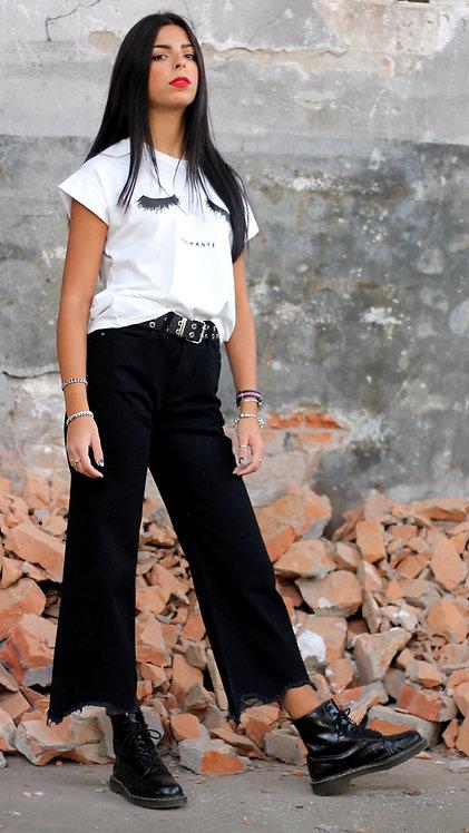 Jeans fondo sfrangiato - REBEL