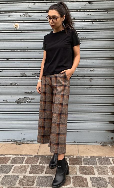 Pantalone panno check - PEPEROSA