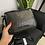 Thumbnail: Pochette borchie piatte nero - Gio Cellini
