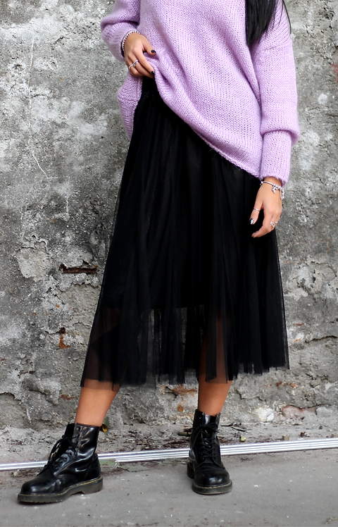 Gonna lurex in tulle - REBEL