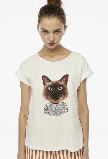 T-shirt gattino - CF