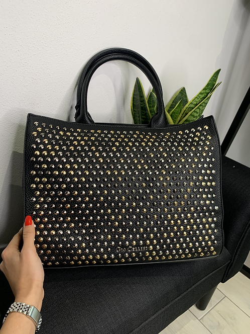 Shopper bag All Studs- Gio Cellini