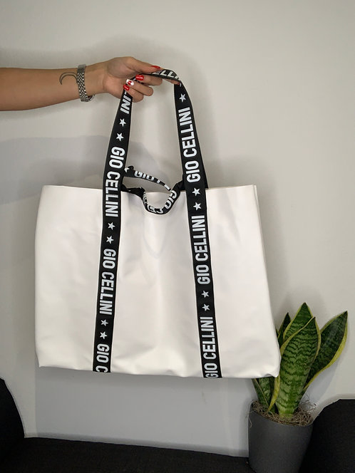 Big Beach Bag bianca - Gio Cellini