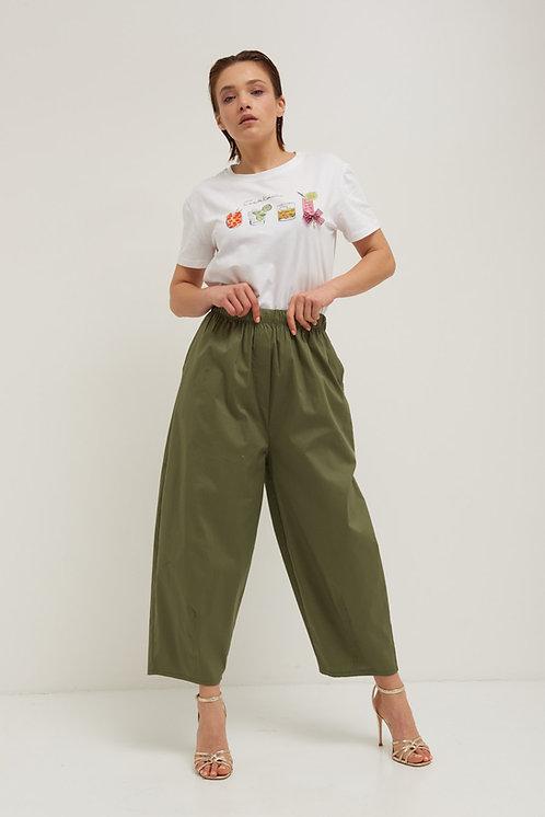 Pantalone cotone over - Kikisix