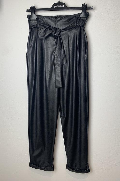 Pantalone caramella ecopelle - Peperosa