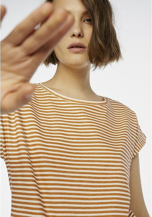 T-shirt righine arancio - CF
