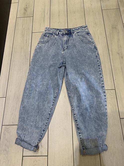Jeans slouchy azzurro - Adora