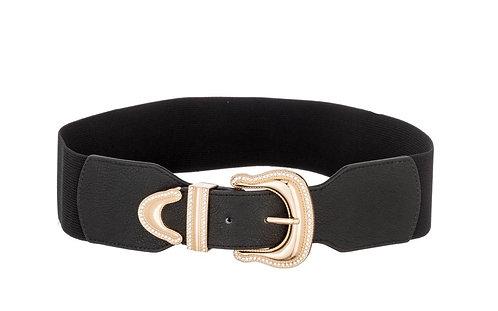 Cintura fibbia oro
