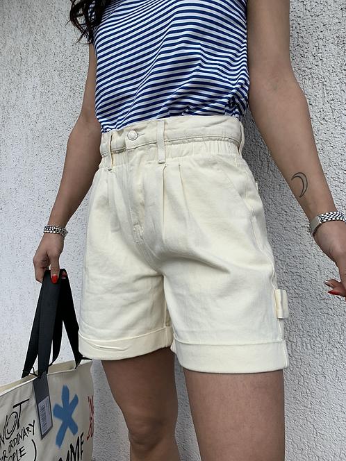 Shorts denim caramella panna - REBEL