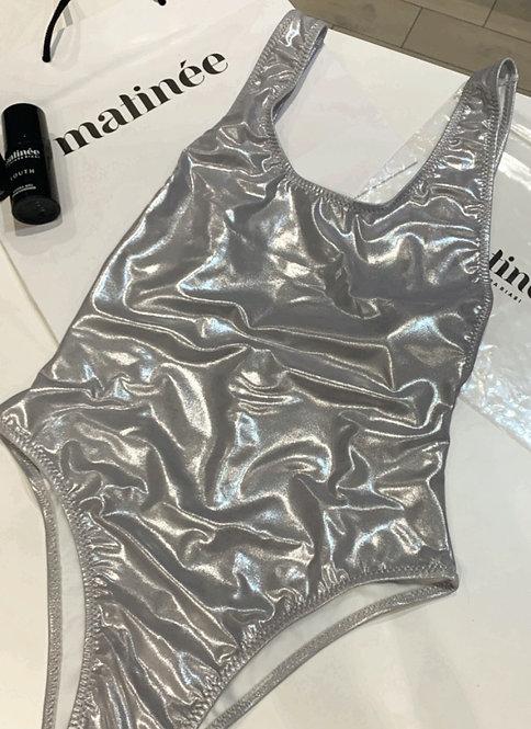 Costume intero cangiante argento - Matinée