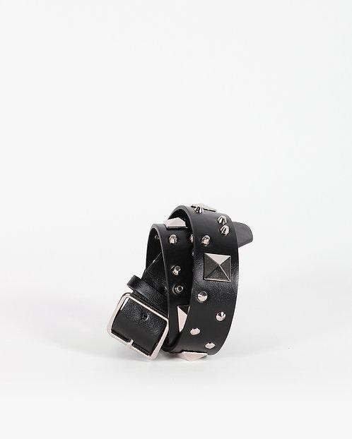 Cintura Maxi Studs nera - Gio Cellini