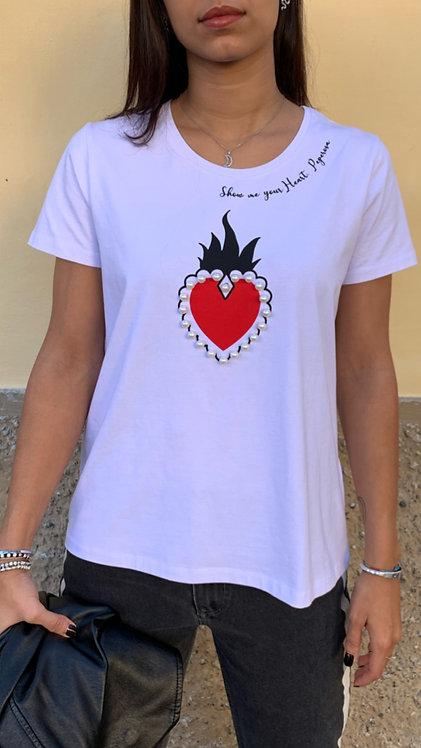 "T-Shirt ""CUORE SACRO"""
