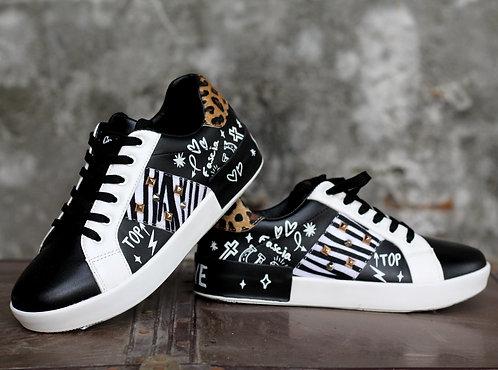 Sneakers animalier - Gio Cellini