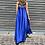Thumbnail: Abito in raso con fiocco bluette - Adora