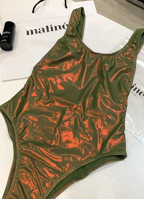 Costume intero cangiante verde - Matinée