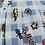 Thumbnail: Minigonna pop plissè azzurra - REBEL