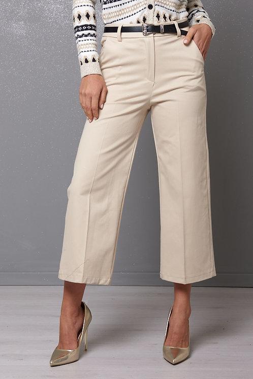 Pantalone palazzo con cintura - Kikisix