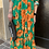 Thumbnail: Abito chemisier fiori arancio - Adora