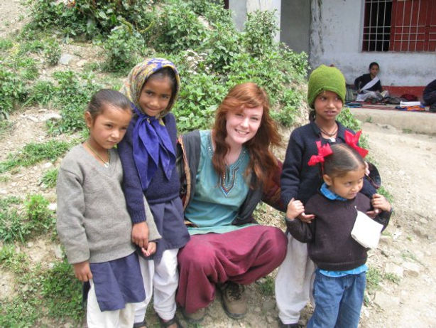 India volunteering