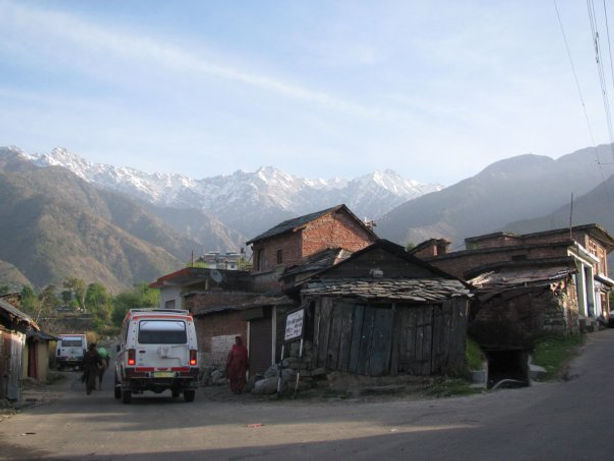 Local shops in Mountains in India