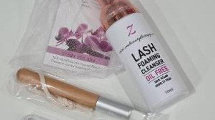 Zen Beauty Therapy Lash extension cleanser kit