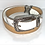 Thumbnail: Vintage Brighton Reversible Leather & Metal Belt