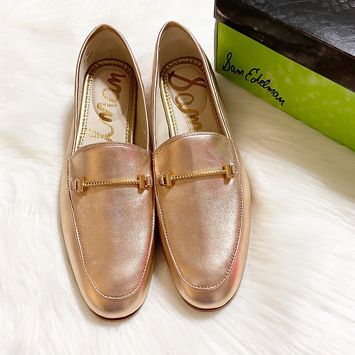 Sam Edelman Lior Blush Gold Loafer