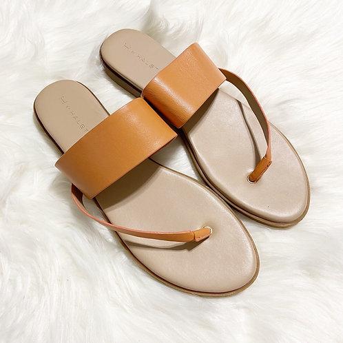 H by Halston Addie Leather Sandals