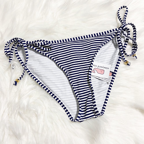 Vineyard Vines Navy Stripe Bikini Bottom