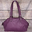 Thumbnail: Coach Soho Purple Leather Satchel