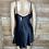 Thumbnail: Victoria's Secret Black Silk Slip Lingerie