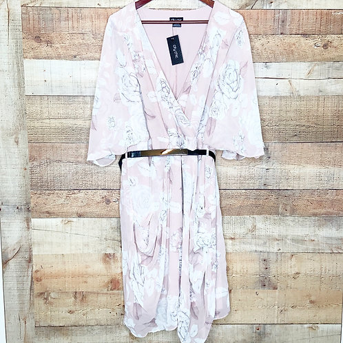 City Chic Whimsy Wrap Dress