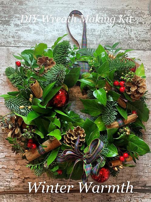 Winter Warmth Luxury DIY Wreath Making Kit