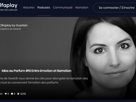 Podcasts Olfaplay pour la maison Guerlain