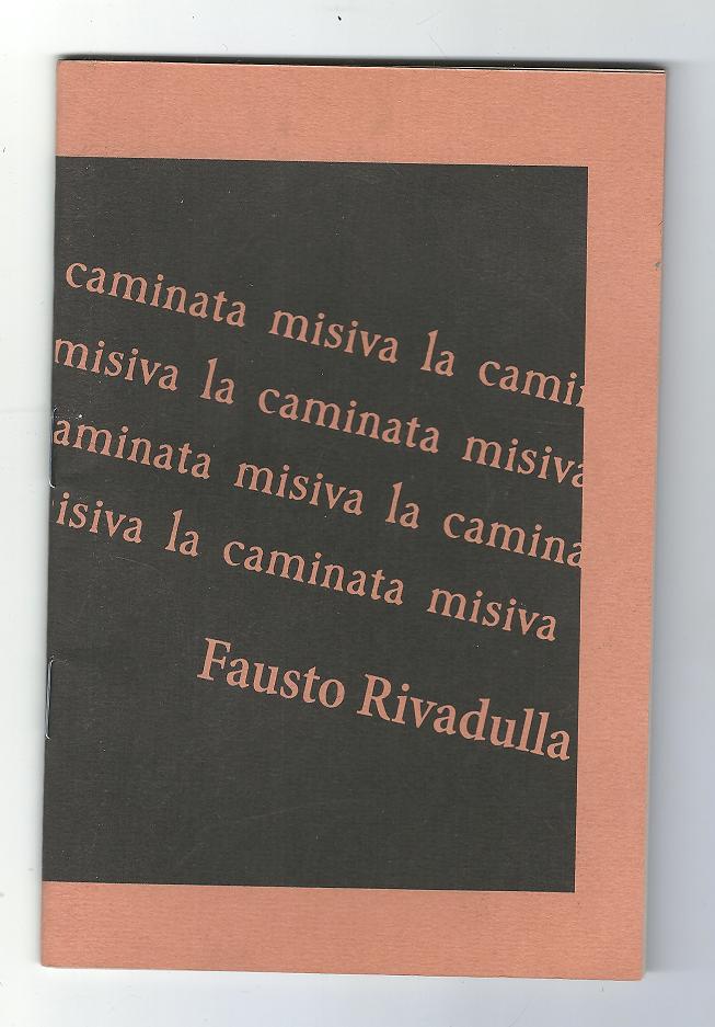 """""""La caminata misiva"""", por Fausto Rivadulla (Costa Interplanetaria, 2017)"""