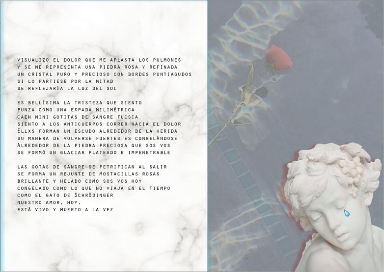 """""""Break-up songz"""", por Agostina Bonanata (disponible online, 2018)"""