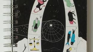 """Presentación de la Agenda Astrológica """"Amuleto"""""""