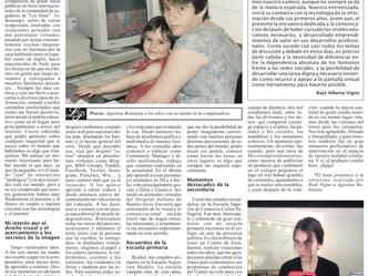 Entrevista para el Diario La Opinión de Santa Fe