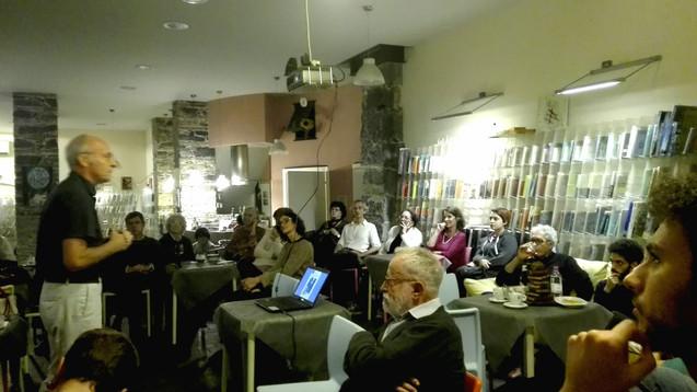 Fabio Caccia | Conferenza La Passeggiata Librocaffè, Genova