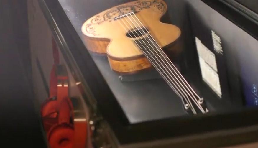 Mostra Paganini Rockstar Genova
