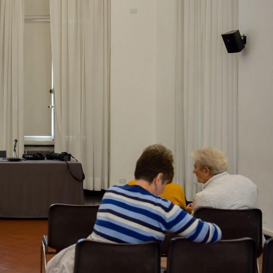 Conferenza di Gabriella De Capitani a Palazzo Ducale, Genova