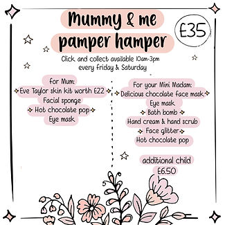 mummy and me pamper click and collect.jp
